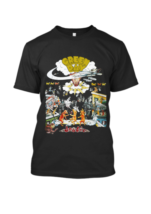 Dookie Tour 1994 Green Day Band T Shirt