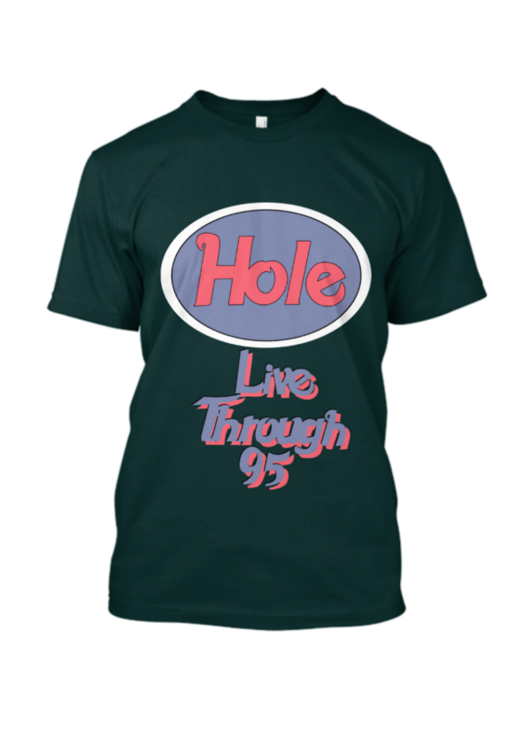 European Tour 1995 Hole Band T Shirt