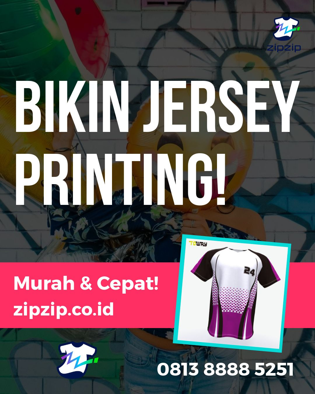 Order Jersey Futsal Berkerah Custom Desain Bebas Di Kepi - TELP/WA 0813 8888 5251